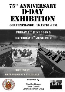 Friday June 7 and Saturday June 8 - D-Day Exhibition