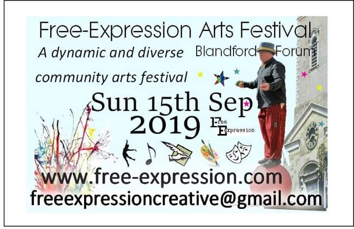 Free Expression Arts Festival Sunday September 15